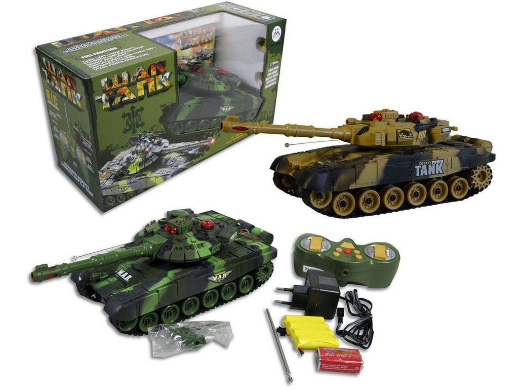 Made Tank na dálkové ovládání na baterie