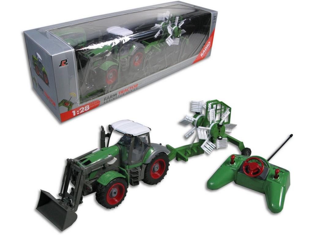 Made Traktor s přívěsem na plné ovládání