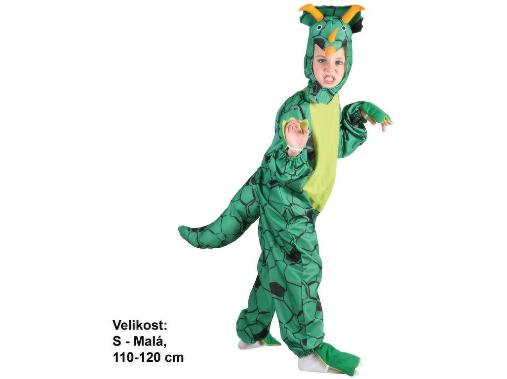 Made Kostým na karneval Triceratops, 110-120cm