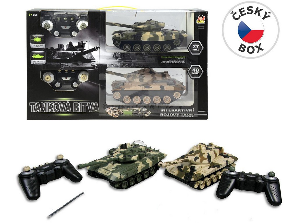 Made Tanky 2 ks na ovládání