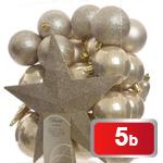 Vánoční ozdoby 33 ks