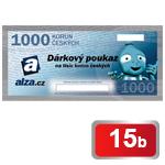 Dárkový poukaz Alza.cz na nákup zboží v hodnotě 1 000 Kč
