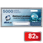 Dárkový poukaz Alza.cz na nákup zboží v hodnotě 5 000 Kč