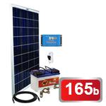 12V Fotovoltaický ostrovní systém 175Wp