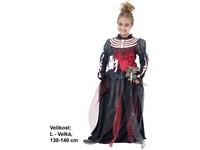 82471 - Kostým na karneval -  Zombie dívka, 130-140 cm