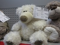 82654 - medvěd bílý, 27 cm