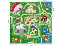 86022 - Puzzle pěnové -  železnice, 9 ks