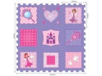 86024 - Puzzle pěnové - princezny, 9 ks