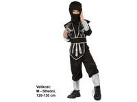86073 - Kostým na karneval Ninja, 120-130cm