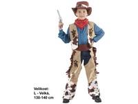 86118 - Kostým na karneval - Kovboj, 130 - 140  cm