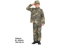 86126 - Šaty na karneval - Voják, 120 - 130 cm
