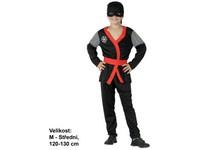 86135 - Šaty na karneval - Ninja,  120 - 130 cm