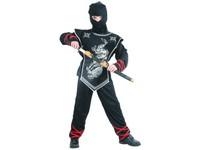 86149 - Kostým na karneval Ninja, 110-120cm