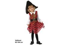 86165 - Kostým na karneval - Pirátka, 92 -104 cm