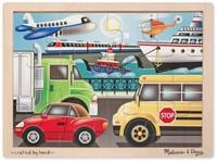 87620 - Puzzle dopravní prostředky 12 dílků
