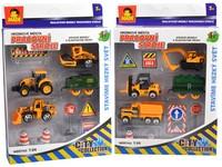 87717 - Sestava stavební s auty