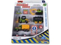 87718 - Sestava pracovní stroje - stavební s auty