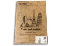 89040 - Puzzle 3D - světové budovy, 26 dílků