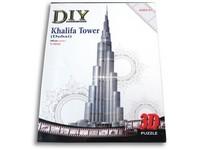 89046 - Puzzle 3D-  Dubai, 75 dílků