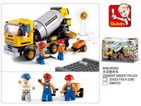 90103 - Stavebnice domíchávač betonu, 296 ks