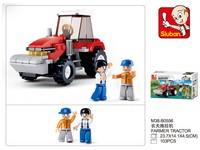 90108 - Stavebnice traktor, 103 ks