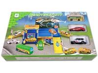90894 - parkoviště městské se 3 auty