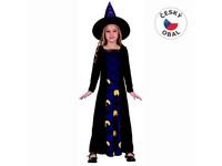 91244 - Kostým na karneval Čarodějka, 110-120cm