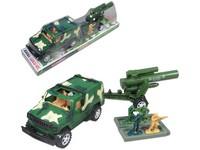 92255 - Auto vojenské na setrvačník