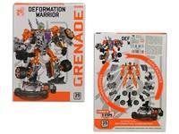 93681 - Robot 19cm, 35 dílků