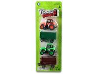 93718 - Traktor s vlečkou na zpětný chod