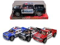 93739 - Auto policejní na setrvačník 26cm