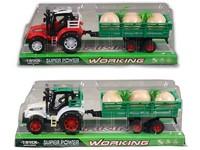 94153 - Traktor s vlečkou na setrvačník 32cm