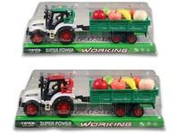 94154 - Traktor s vlečkou na setrvačník 32cm