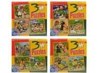 95702 - Puzzle - pohádky 3 v 1