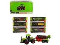 96019 - Zemědělské stroje s přívěsem, 18cm, 24ks v boxu