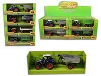 96560 - Traktor s přívěsem, zpětný chod