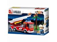96788 - Kostky- hasičské auto 269 ks