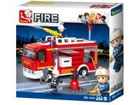 96789 - Kostky- hasičské auto 343 ks