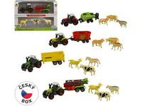 96890 - Sestava zemědělské techniky  se zvířátky