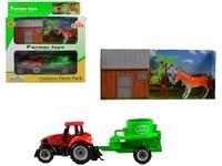 97951 - Traktor s přívěsem, volná kola