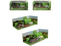 98397 - Traktor s přívěsem a příslušenstvím