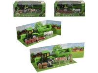 98398 - Traktor s přívěsem a příslušenstvím