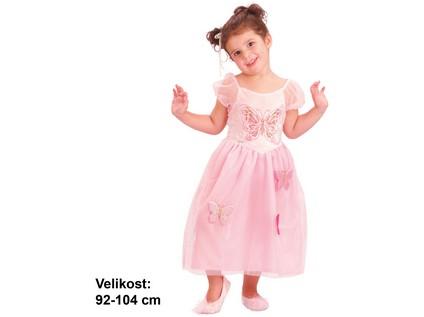 55576 - Kostým na karneval - Princezna, 92-104 cm - 24594_55576