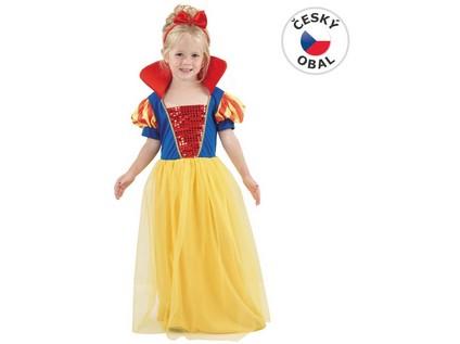 55594 - Kostým na karneval - Sněhurka, 92-104 cm - 24611_55594