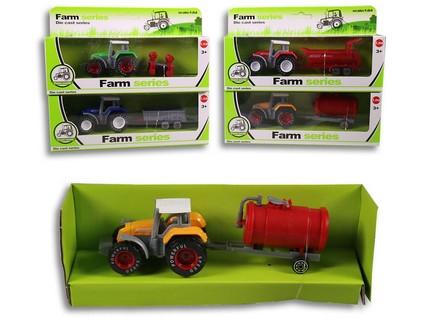 90075 - Traktor Farm s vlečkou - 55125_90075