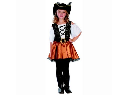91217 - Kostým na karneval Korzárka, 110-120cm - 56231_91217