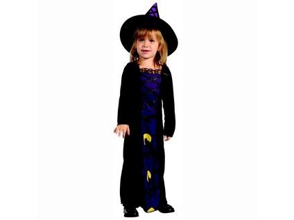 91277 - Kostým na karneval Čarodějka, 92-104cm - 56291_91277