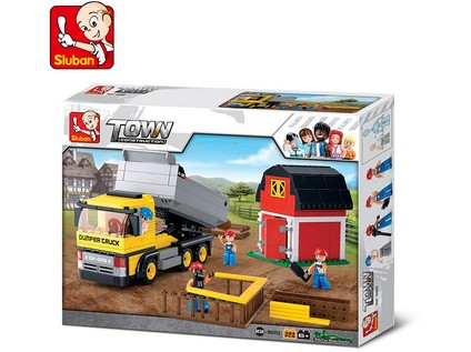 96754 - Kostky - auto nákladní 384 ks - 61571_96754