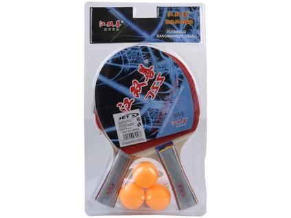 96956 - Sestava pingpongových raket s 3 míčky - 61740_96956
