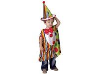 50165 - Kostým na karneval - Malý klaun, 92-104 cm